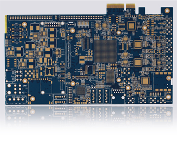 Multilayer High Precision PCB, Industrial Control Board, Thick